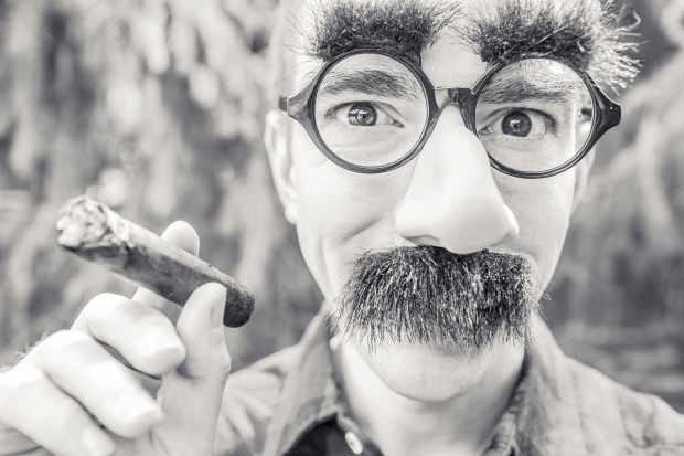 If you're going to VC pitches disguised as Groucho Marx, you might be taking it too far...